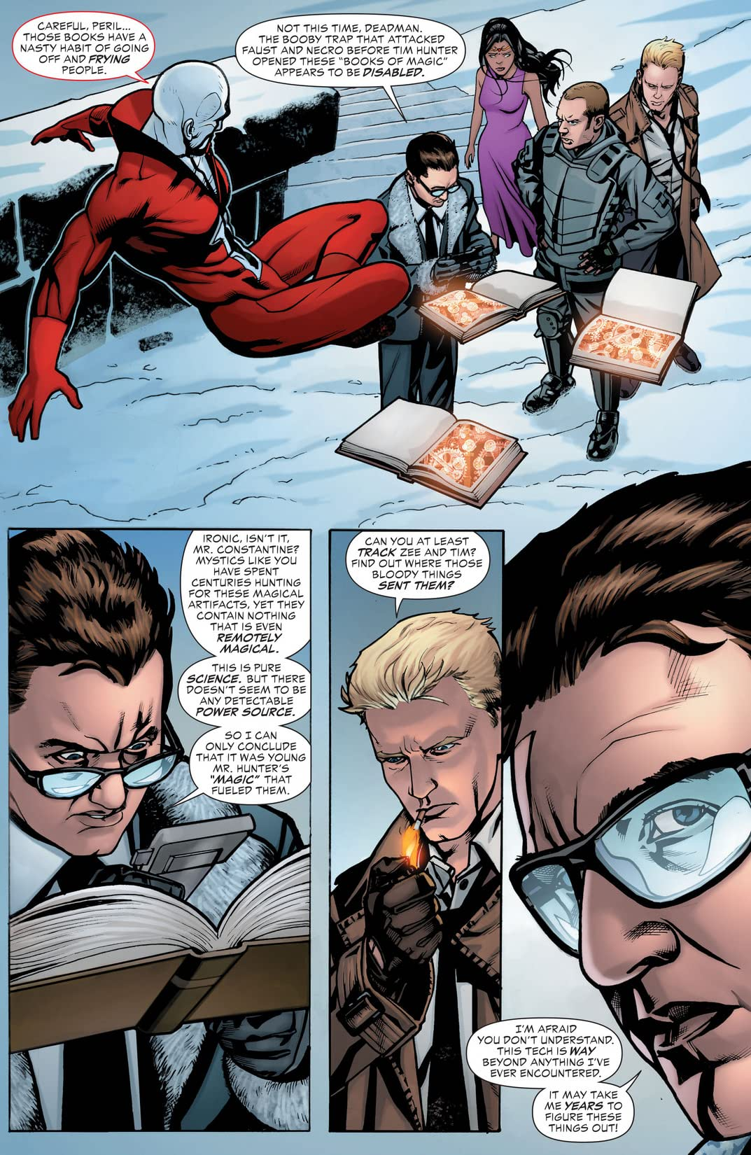 Justice League Dark (2011-2015) Vol. 3: The Death of Magic