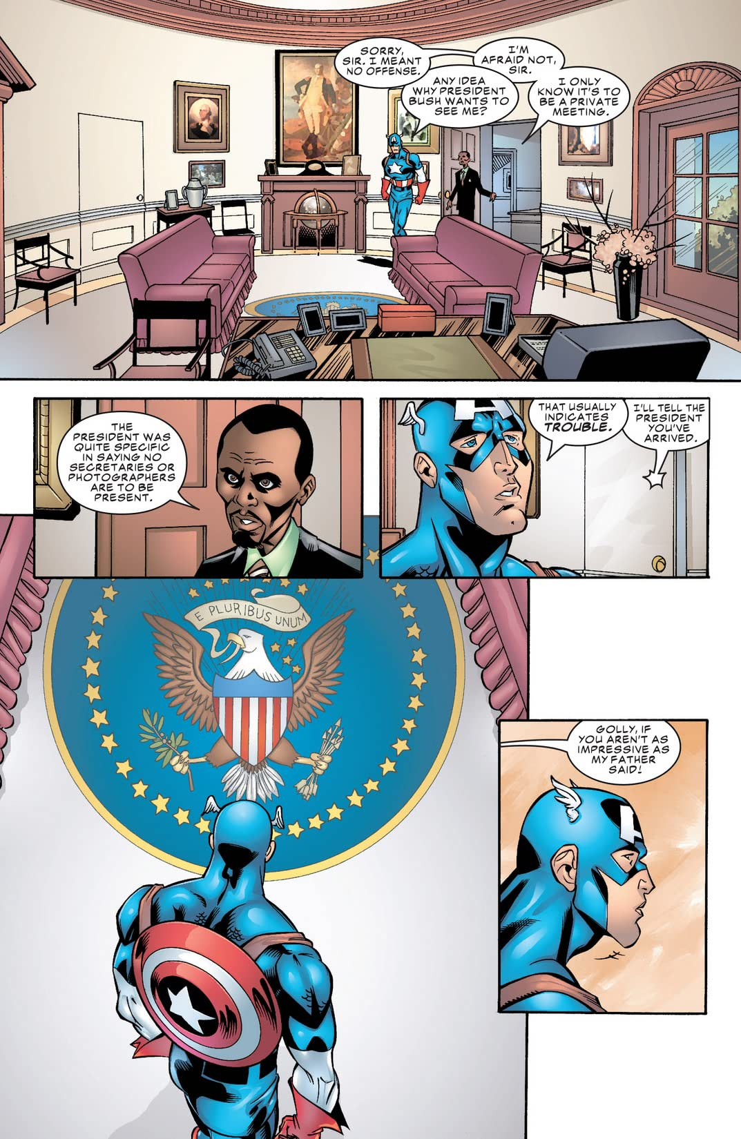 Captain America Annual 2001