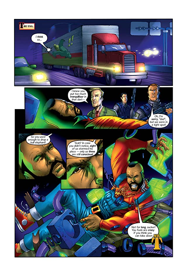 click for super-sized previews of Mr. T Vol. 1
