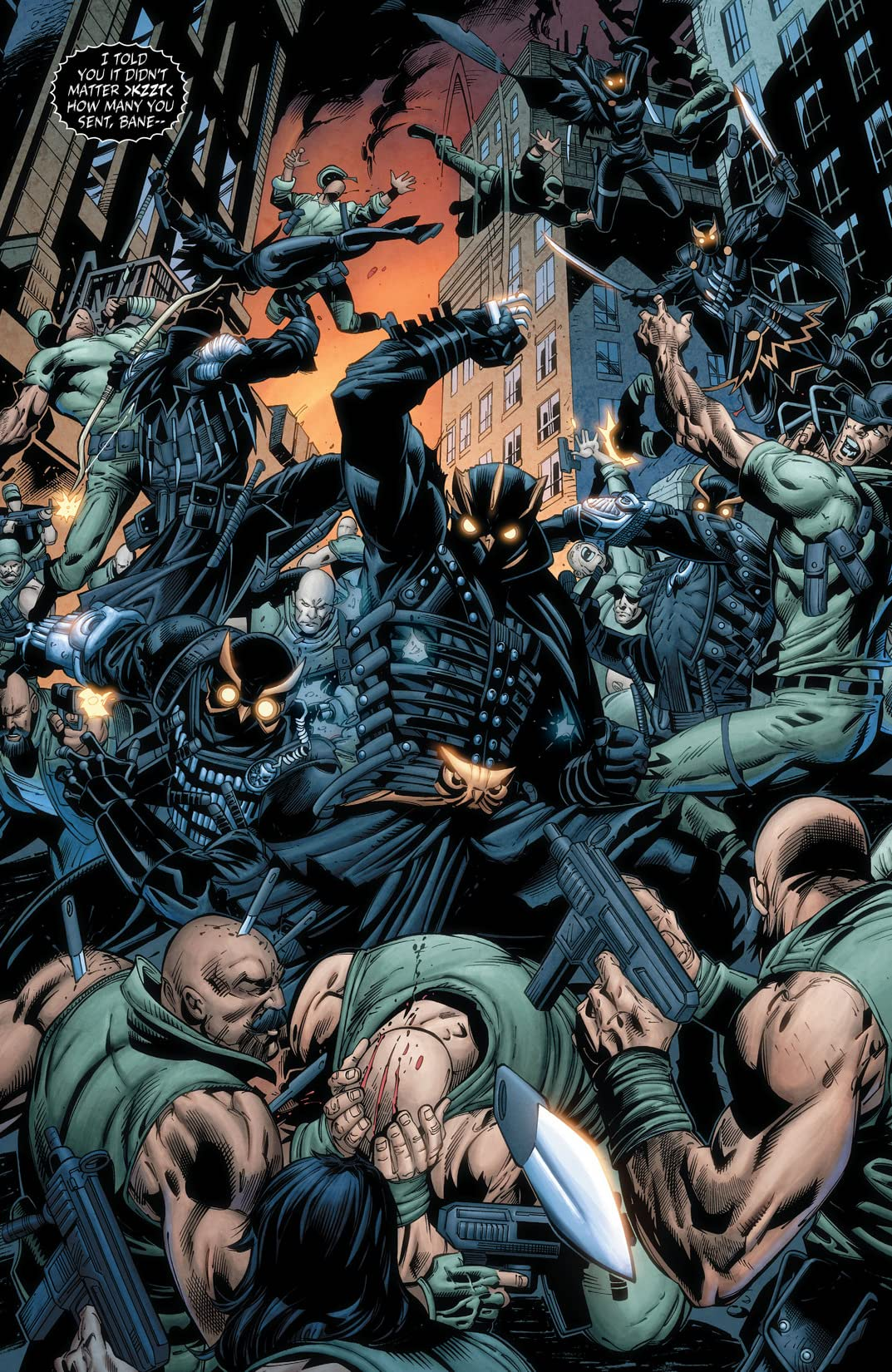 Forever Evil: Arkham War (2013-2014) #5 (of 6)