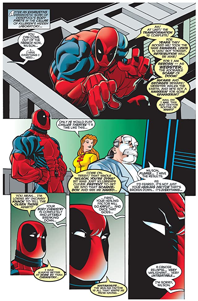 click for super-sized previews of Deadpool (1997-2002) #4