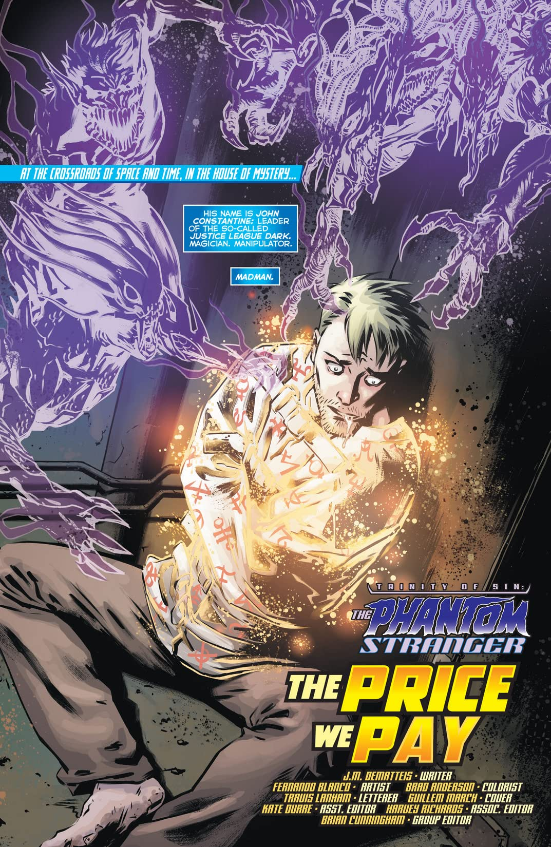 The Phantom Stranger (2012-2014) #16
