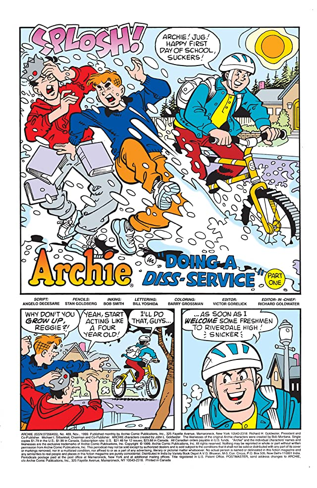 click for super-sized previews of Archie #489