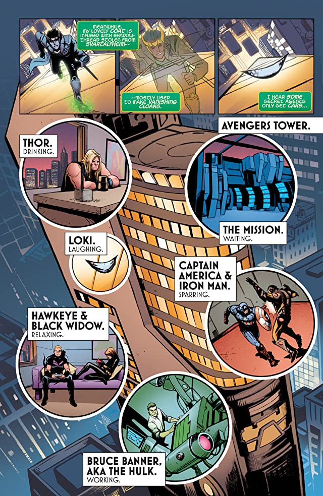 click for super-sized previews of Loki: Agent of Asgard #1