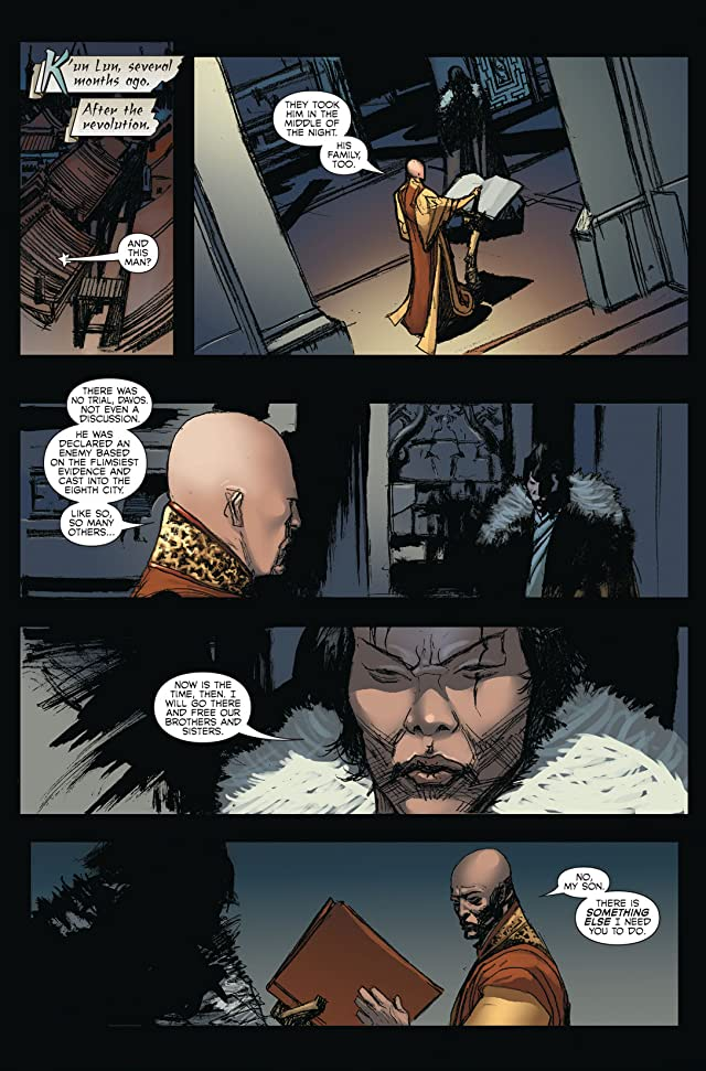 click for super-sized previews of Immortal Iron Fist #26