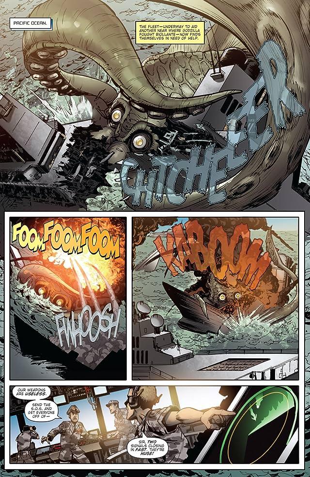 Godzilla: Rulers of Earth #9
