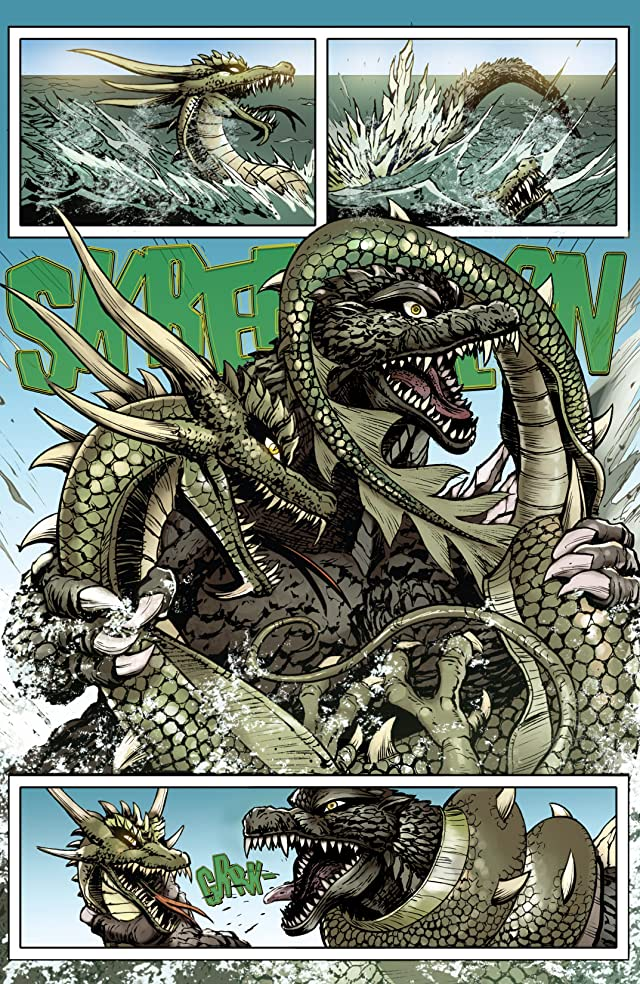 click for super-sized previews of Godzilla: Rulers of Earth #9