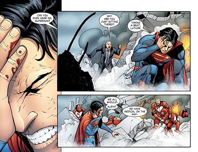 click for super-sized previews of Smallville: Alien #7