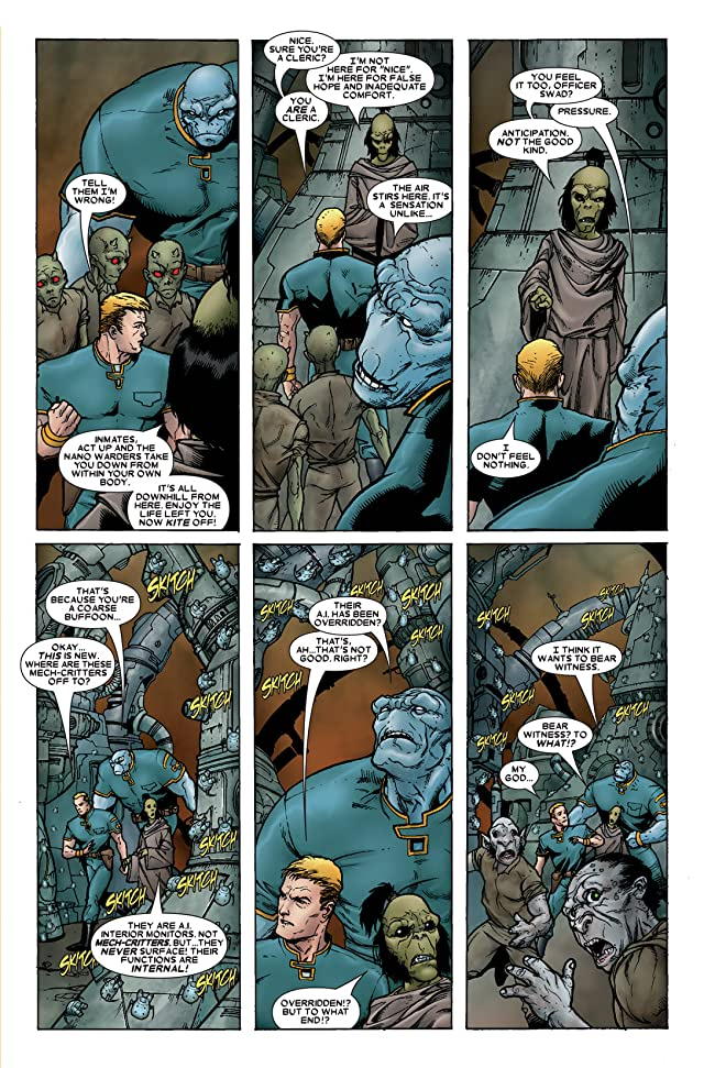 click for super-sized previews of Annihilation Prologue #1