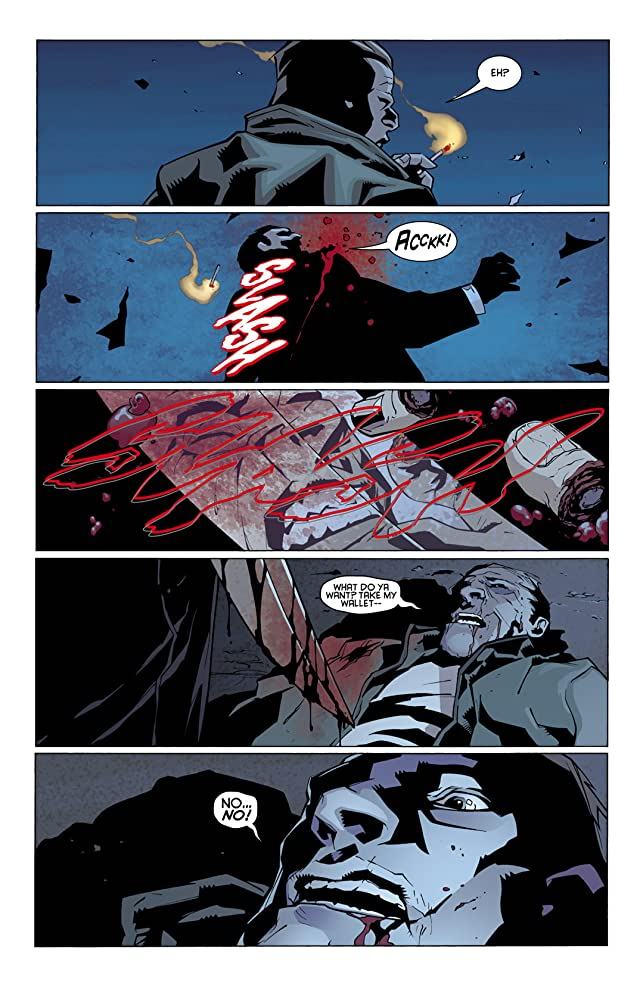 click for super-sized previews of Batman: Streets of Gotham #8