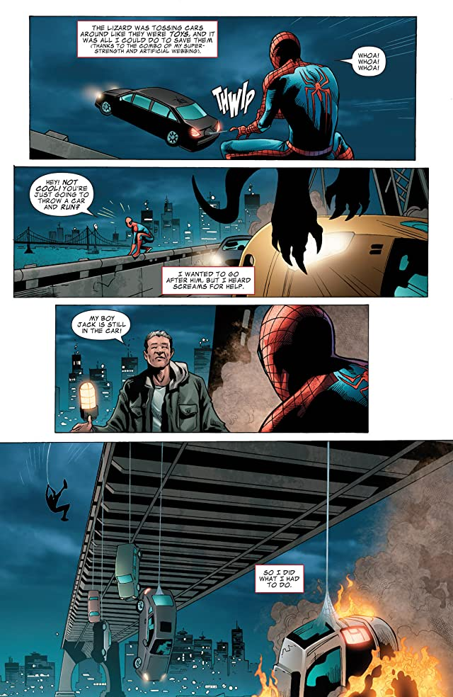 click for super-sized previews of The Amazing Spider-Man: The Movie Adaptation #2
