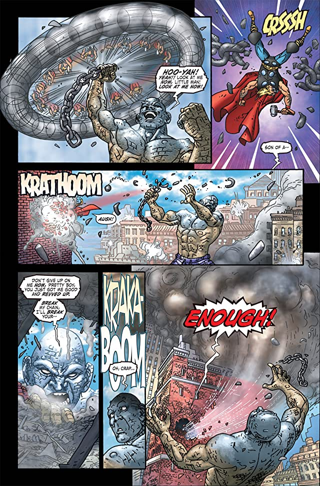 click for super-sized previews of Thor: Blood Oath #1