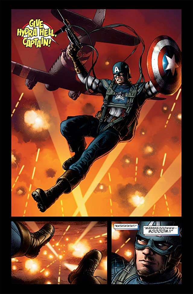 click for super-sized previews of Captain America: The First Avenger #1: First Vengeance