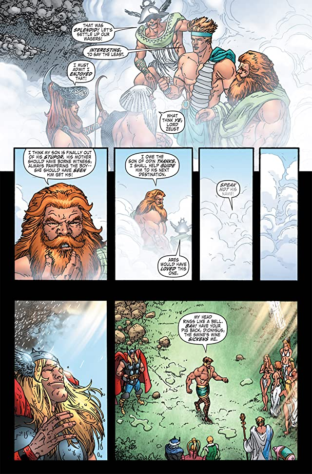 click for super-sized previews of Thor: Blood Oath #4