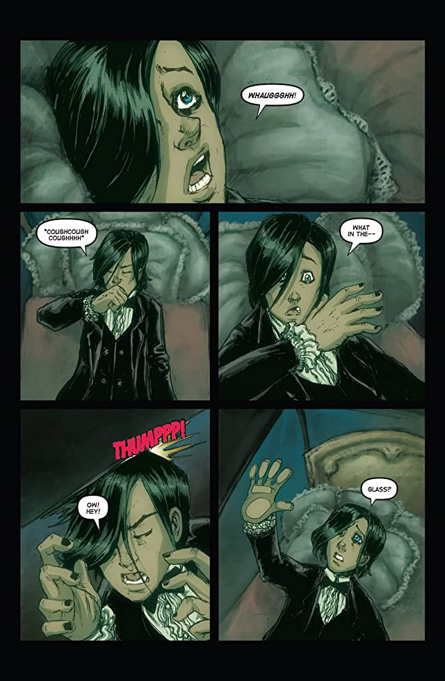 click for super-sized previews of The Hope Virus #2