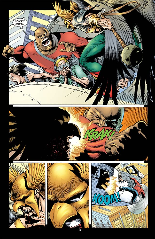 click for super-sized previews of Hawkman (2002-2006) #1