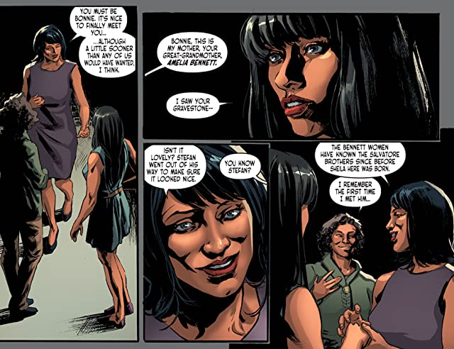 click for super-sized previews of The Vampire Diaries #10