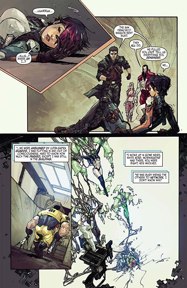 Cyberforce/Hunter-Killer #4 (of 5)