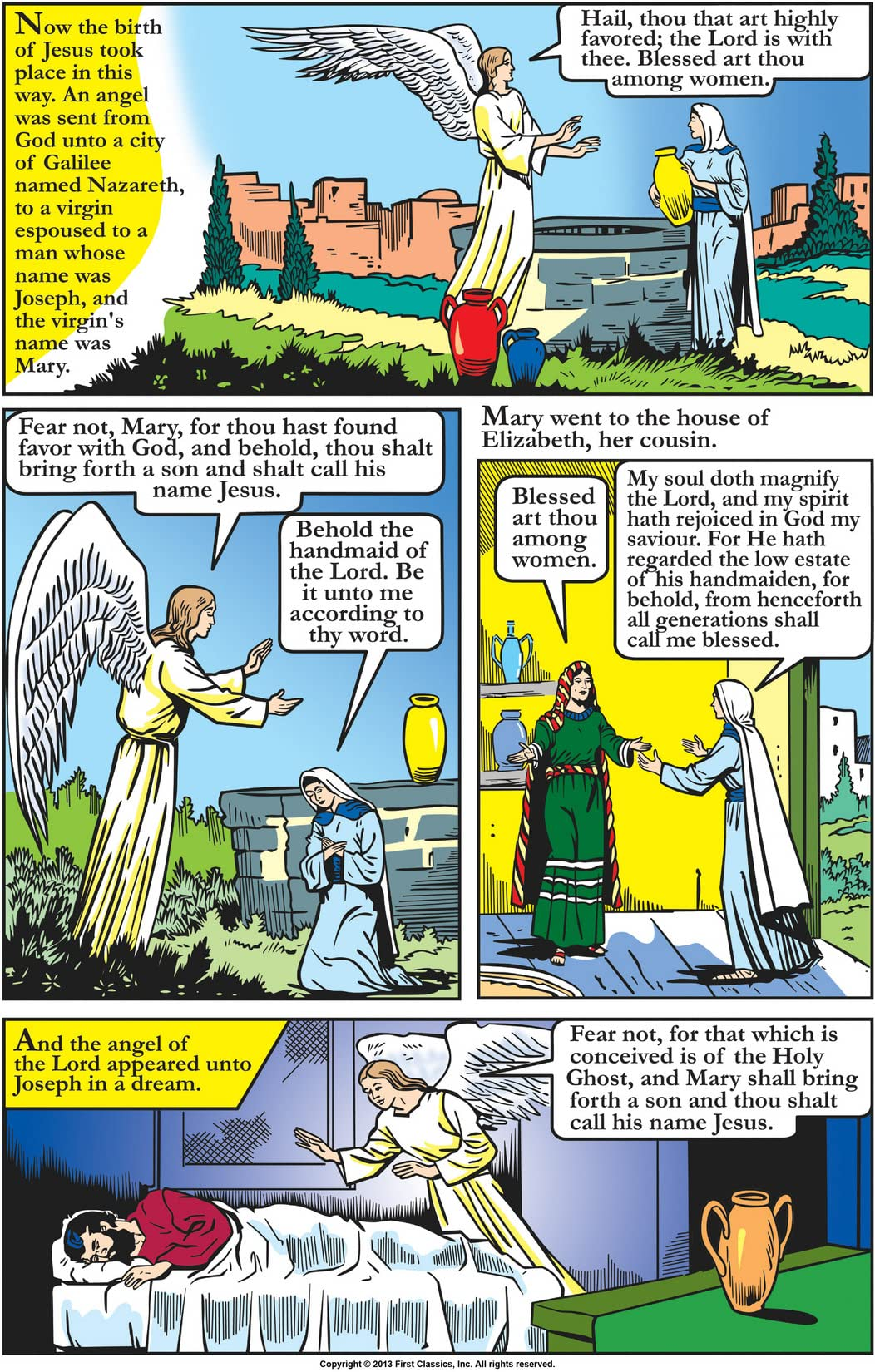 Classics Illustrated Special Issue #129A: Story of Jesus