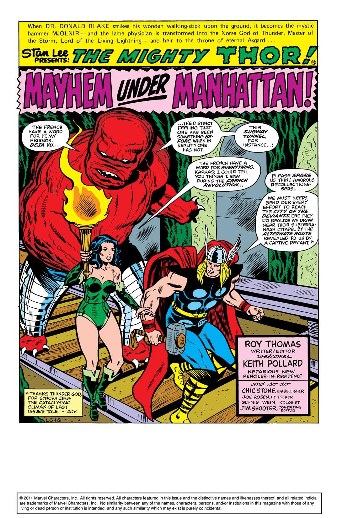 Thor (1966-1996) #286