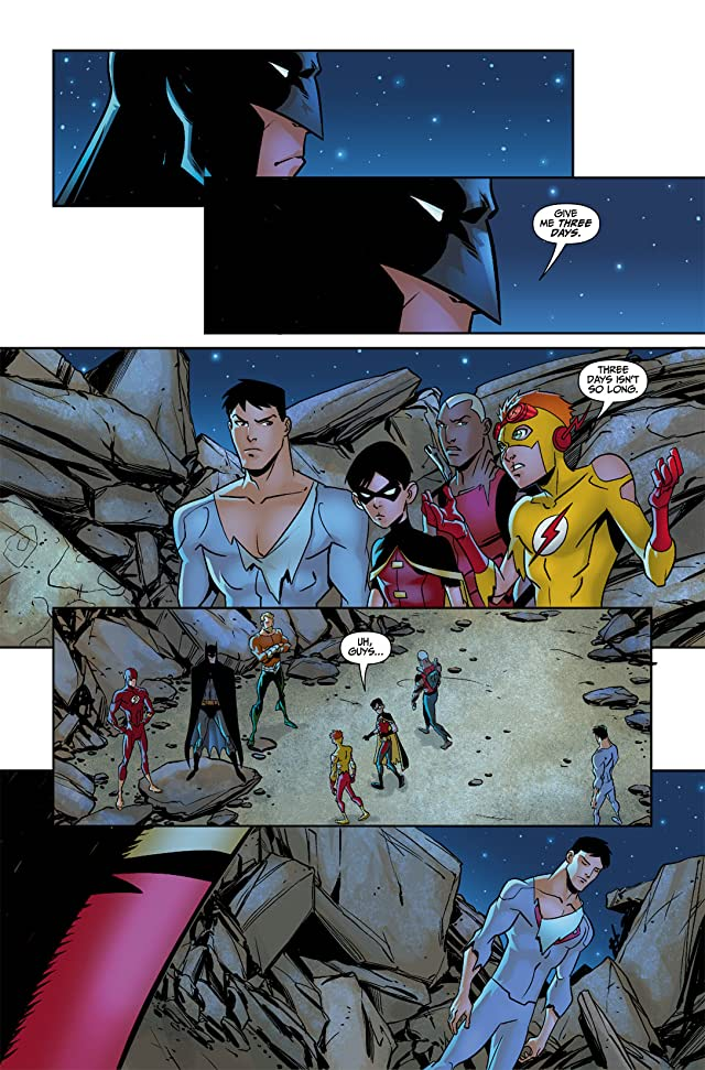 click for super-sized previews of Young Justice (2011-2013) #0