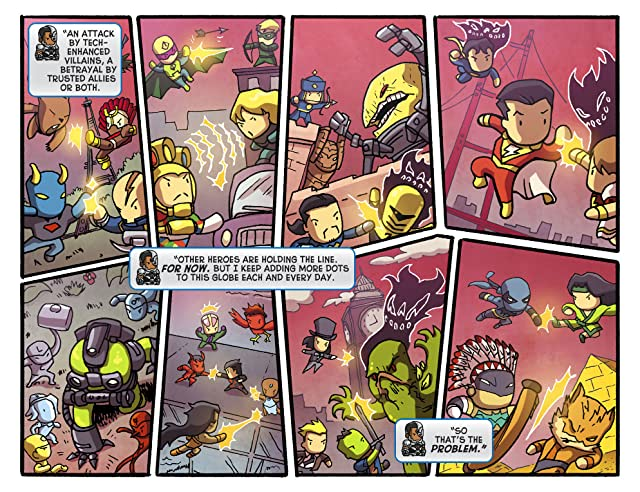 click for super-sized previews of Scribblenauts Unmasked: A Crisis of Imagination #5