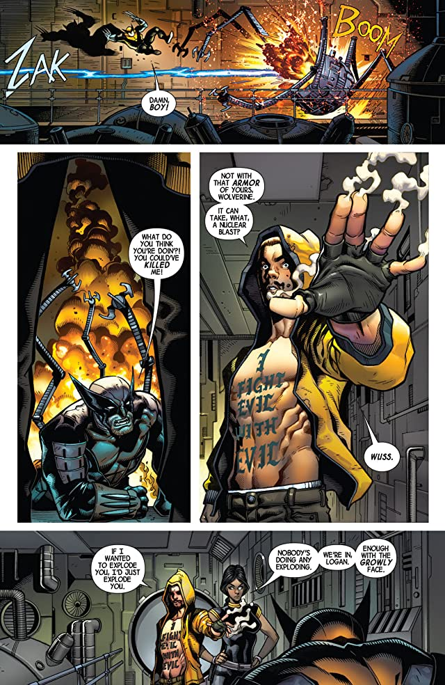 click for super-sized previews of Wolverine (2014-) #1