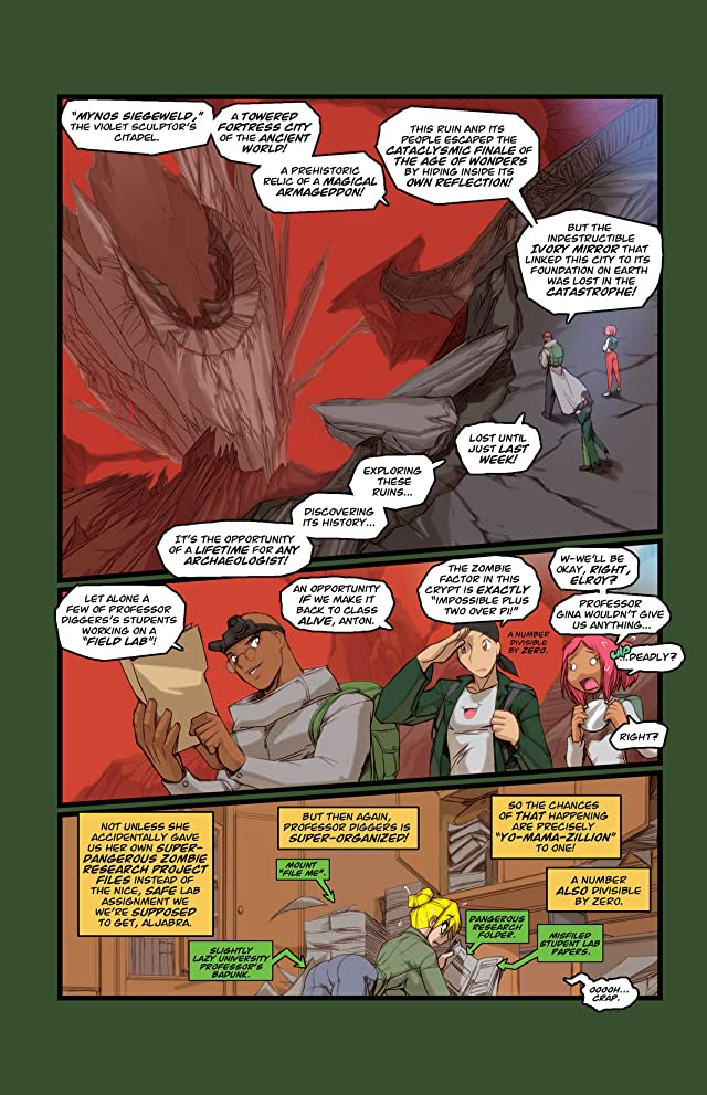 click for super-sized previews of Gold Digger #110