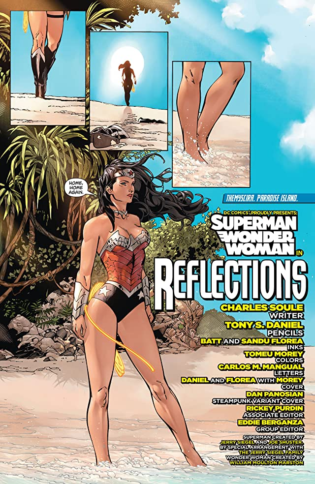 click for super-sized previews of Superman/Wonder Woman (2013-) #5