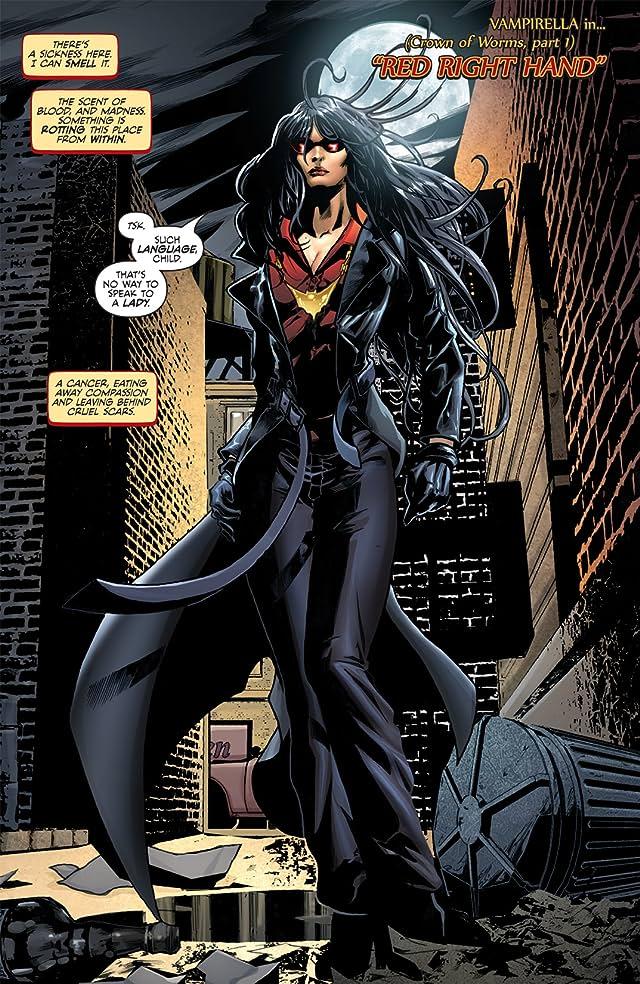 click for super-sized previews of Vampirella #1