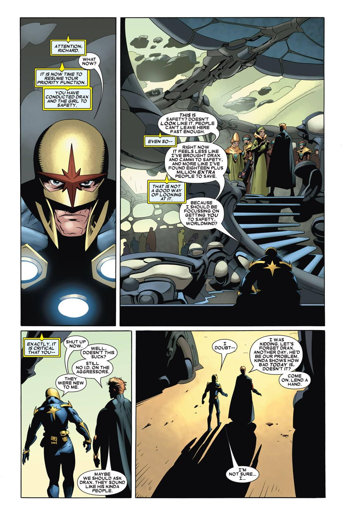 Annihilation: Nova #3