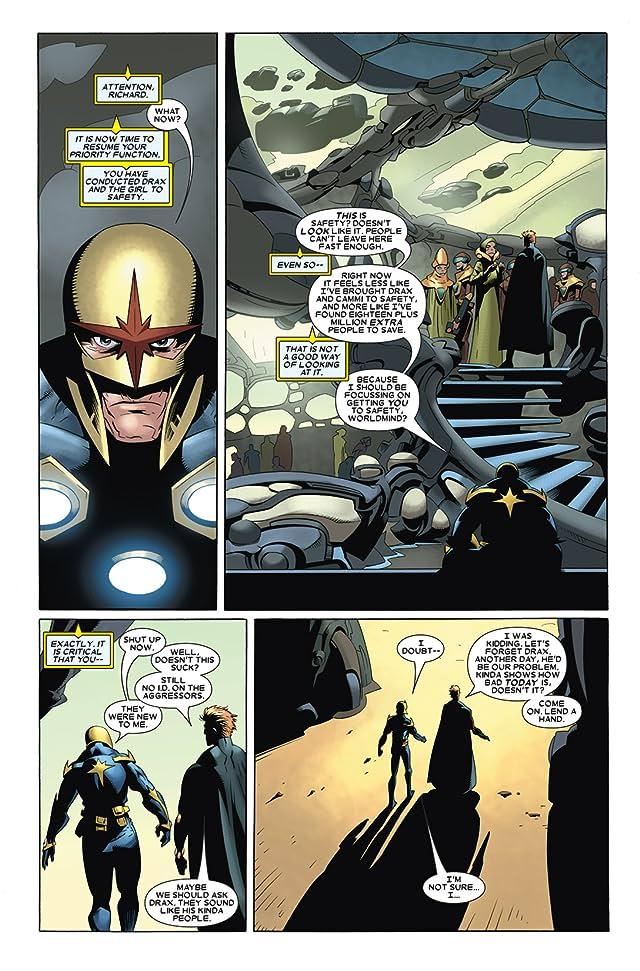 click for super-sized previews of Annihilation: Nova #3