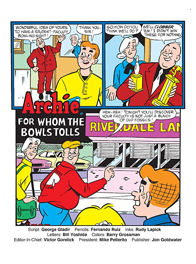 click for super-sized previews of World of Archie Double Digest #37