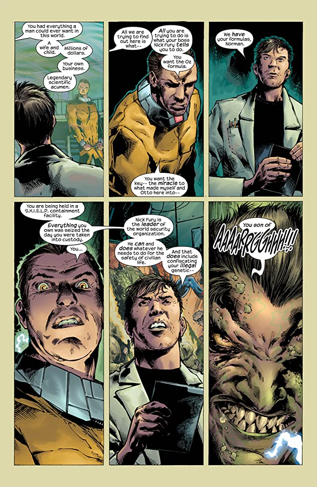 click for super-sized previews of Ultimate Six #2
