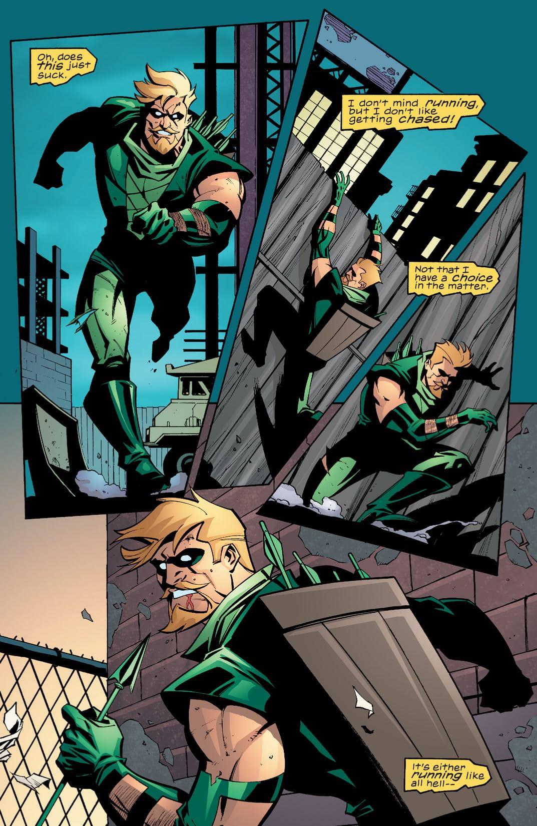 Green Arrow (2001-2007) #28