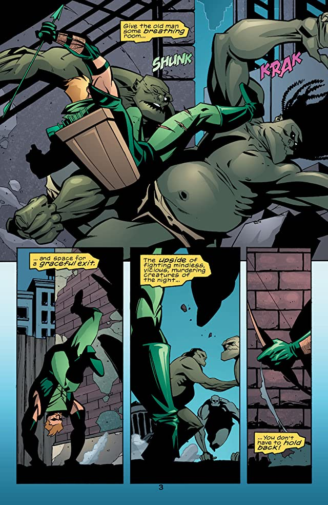 click for super-sized previews of Green Arrow (2001-2007) #28