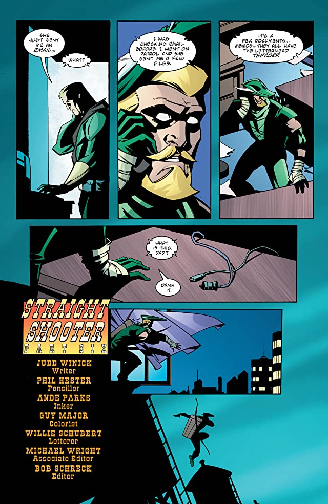 Green Arrow (2001-2007) #31