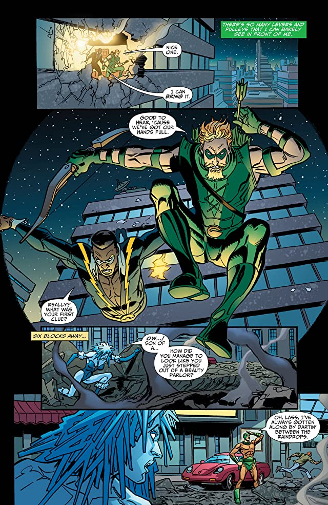 click for super-sized previews of Green Arrow (2001-2007) #55