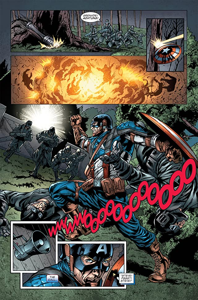 click for super-sized previews of Captain America: The First Avenger #2: First Vengeance