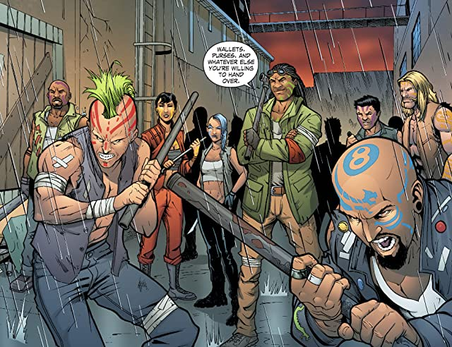 click for super-sized previews of Smallville: Alien #8