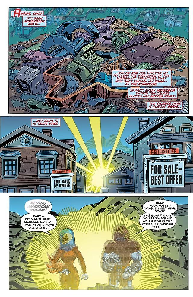 click for super-sized previews of Godland #14