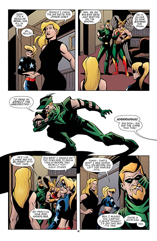 Green Arrow (2001-2007) #12