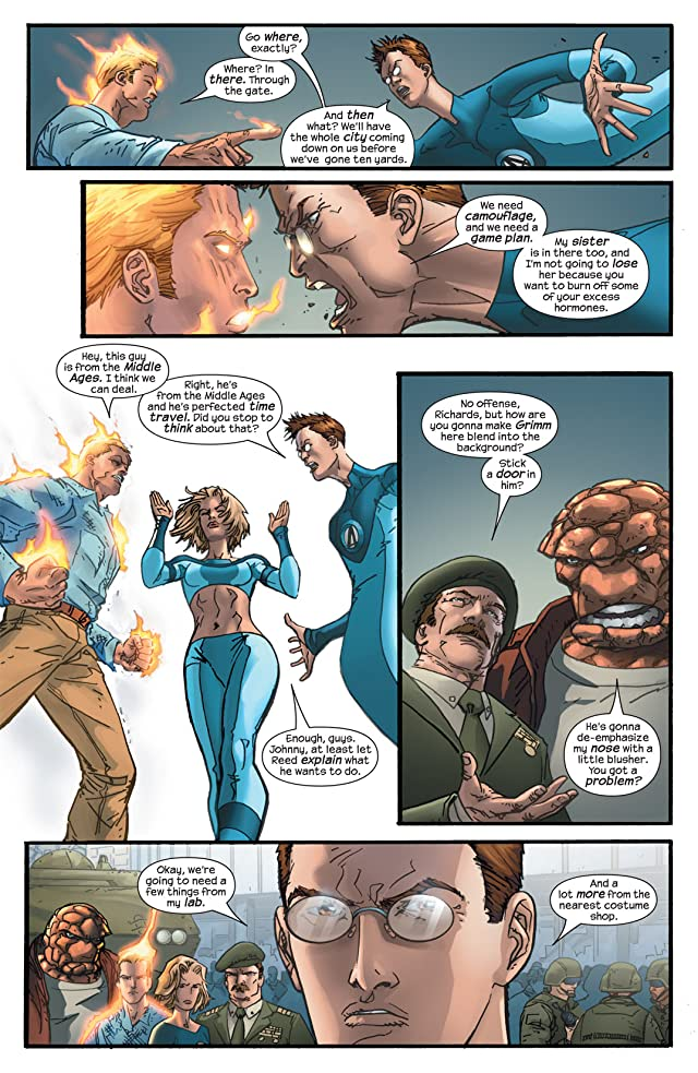 click for super-sized previews of Ultimate Fantastic Four #40
