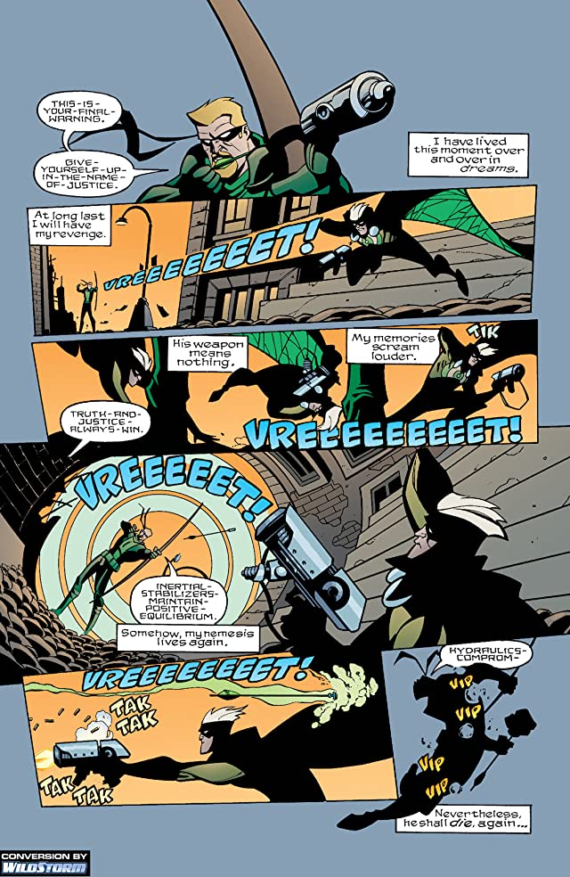 click for super-sized previews of Green Arrow (2001-2007) #22
