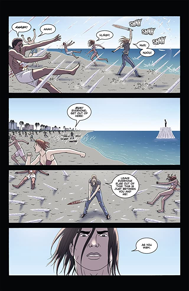 click for super-sized previews of The Sword #11