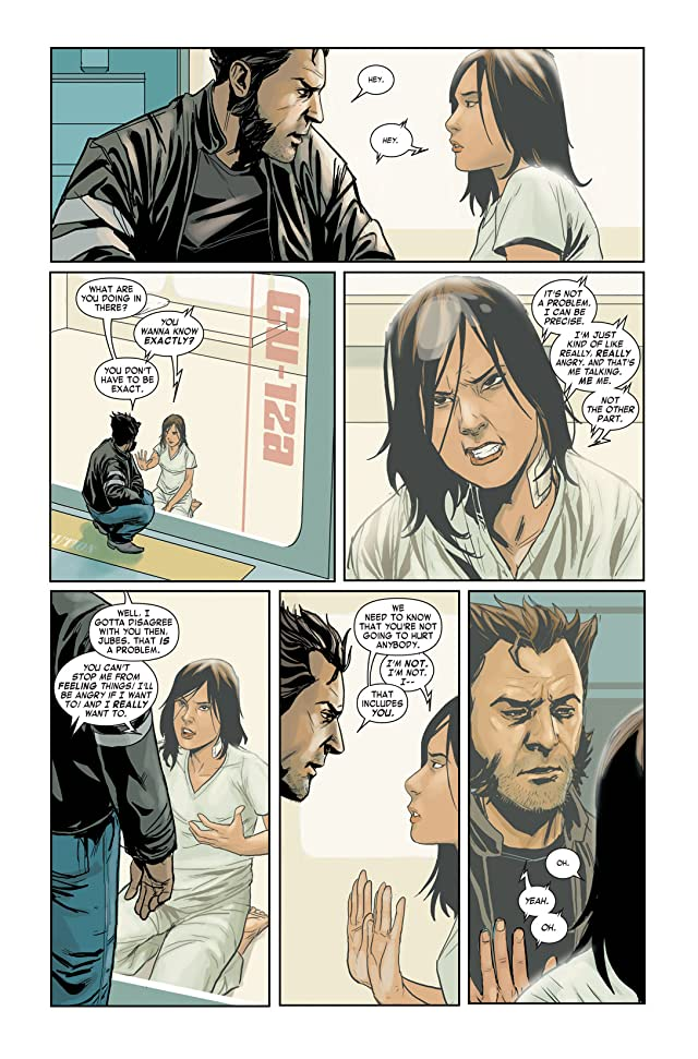 click for super-sized previews of Wolverine & Jubilee #1