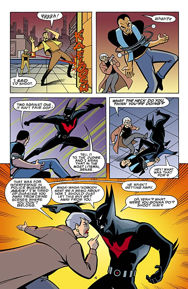 Batman Beyond (1999-2001) #13