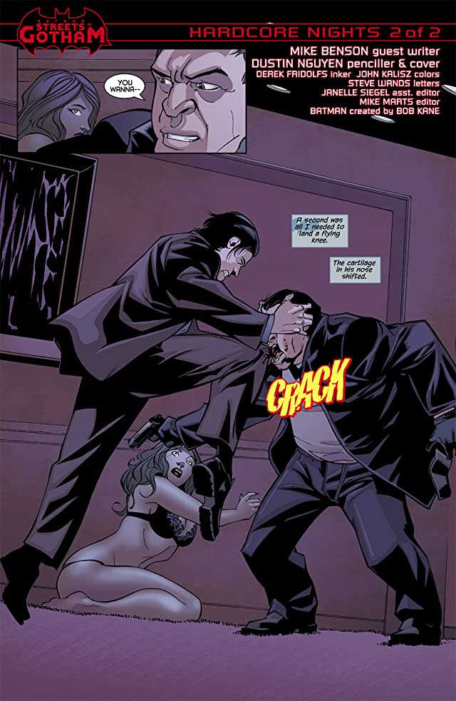 click for super-sized previews of Batman: Streets of Gotham #9