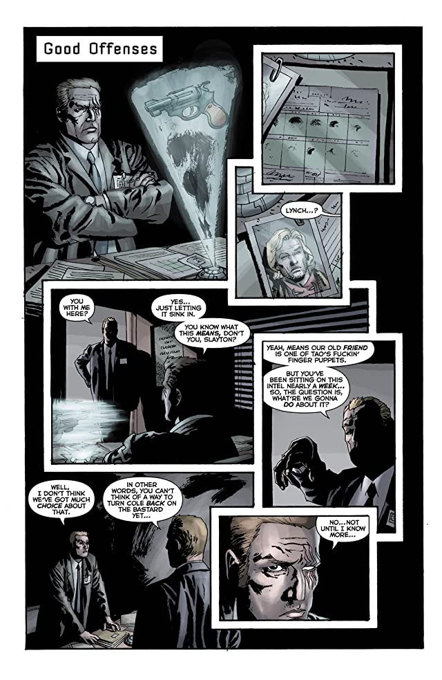 click for super-sized previews of Sleeper: Season Two #10