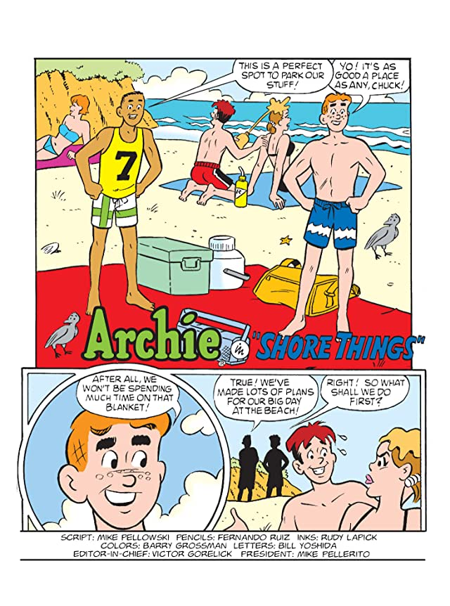 click for super-sized previews of Archie Double Digest #240